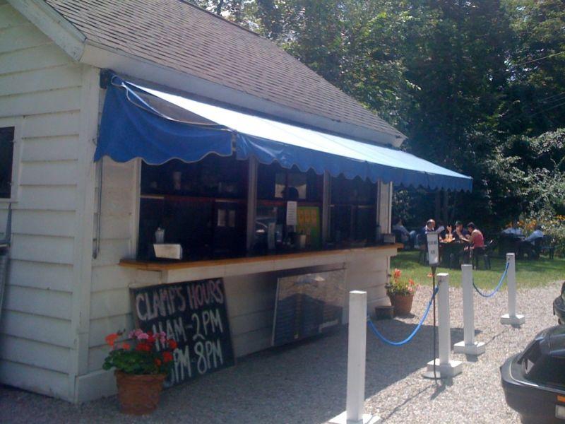 clamp's hamburger stand new milford ct