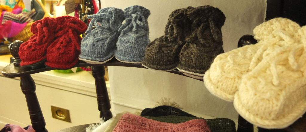 best shopping dublin souvenirs cleo's baby shoes handknit