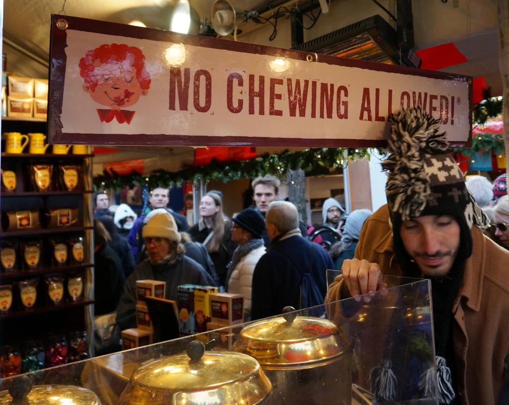 union square holiday market nyc christmas shopping gift food