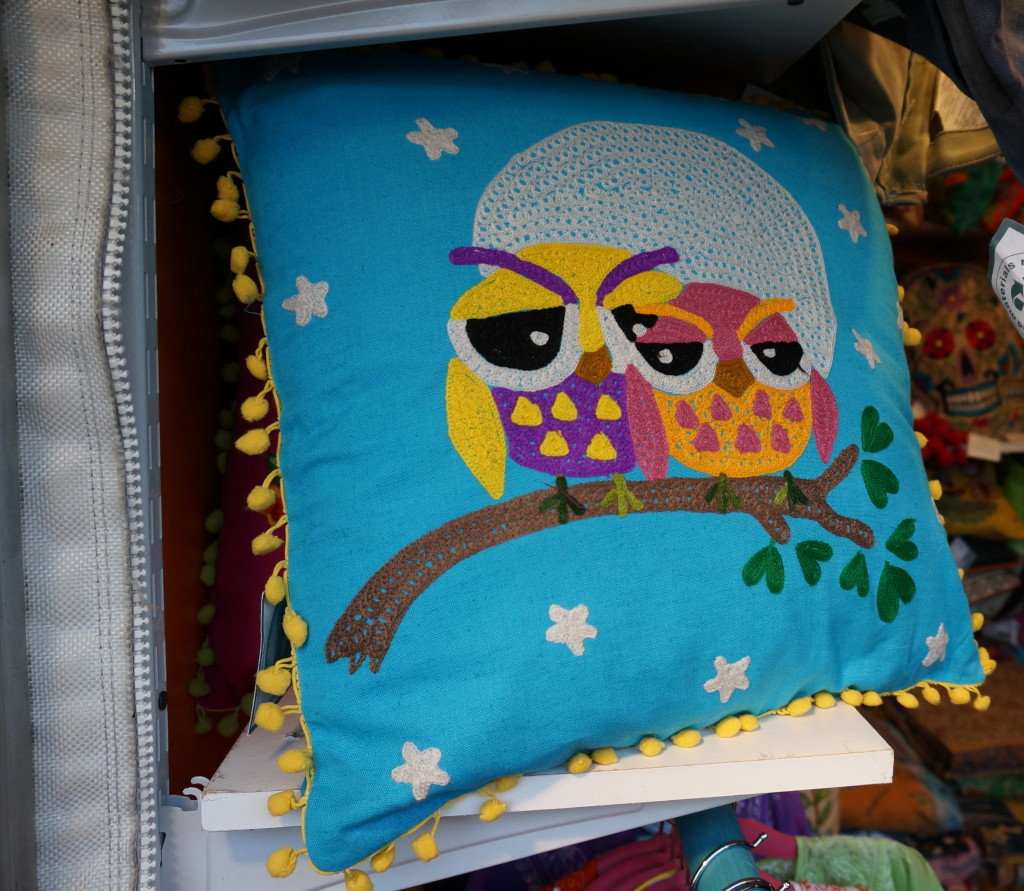 union square holiday market nyc christmas shopping gift pillow