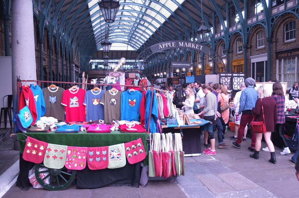 apple market convent garden vendor stalls shopping london