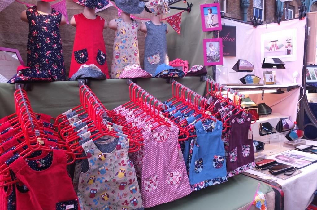 children's clothes london convent garden market handmade shopping apple market