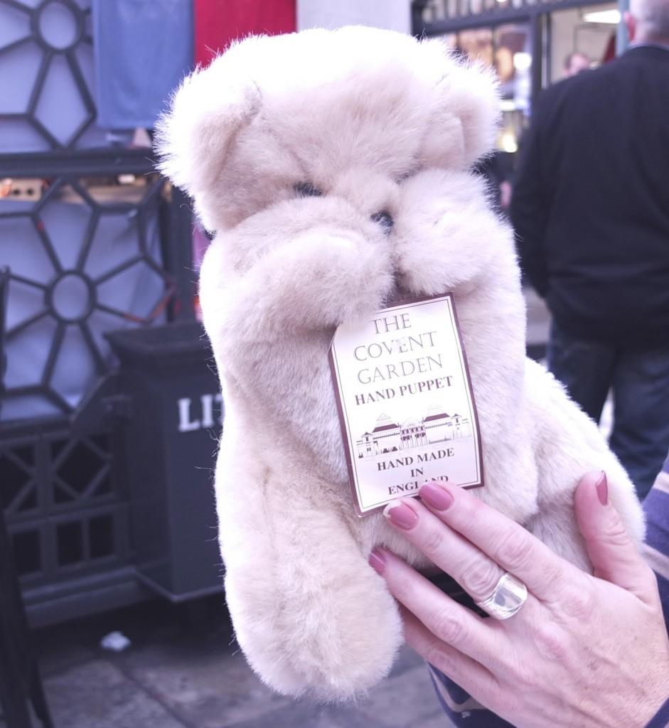 bedford bears puppet handmade uk london convent garden shopping