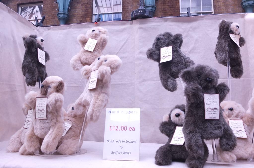 bedford bears puppets handmade uk london convent garden shopping