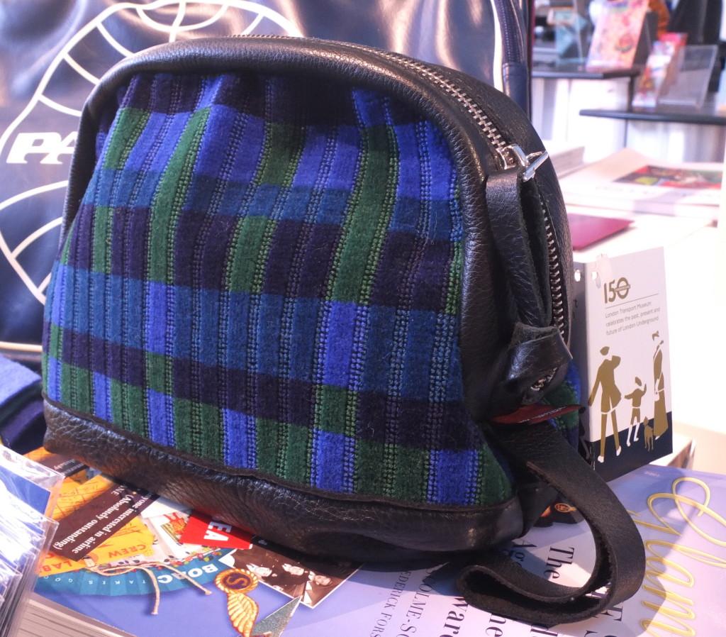 london transport museum gift shop souvenir moquette wash bag toiletry bag