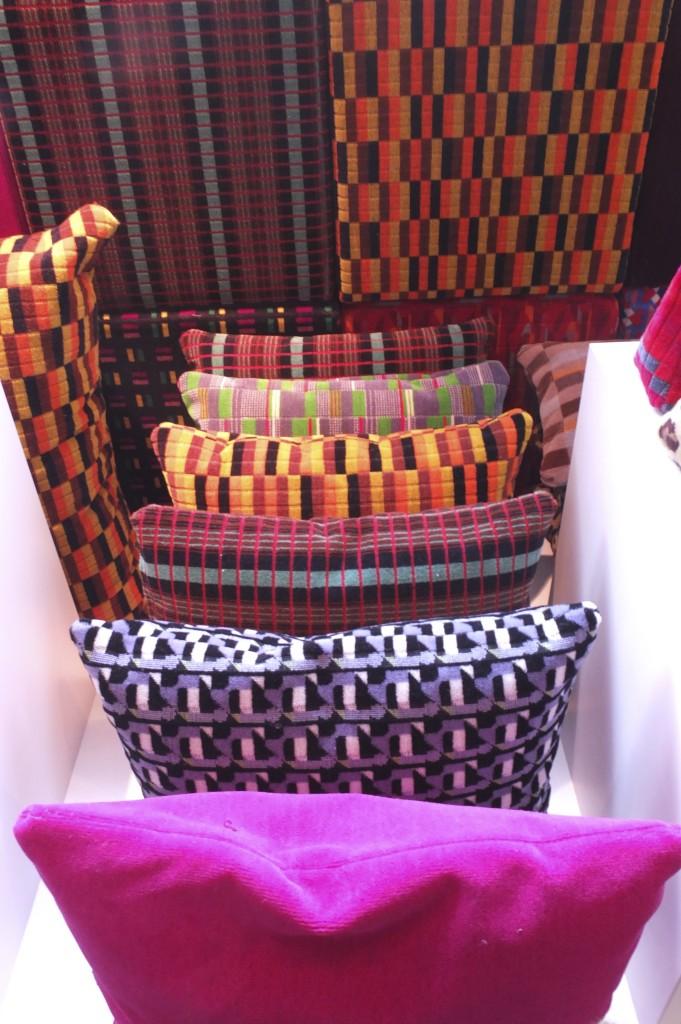 london transport museum gift shop souvenir moquette pillows