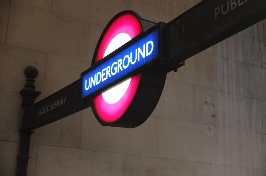 London underground sign london tube sign