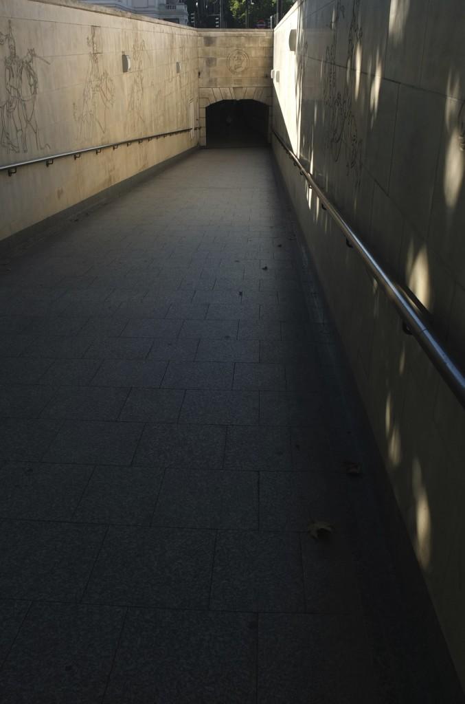 london underground passage way london tube