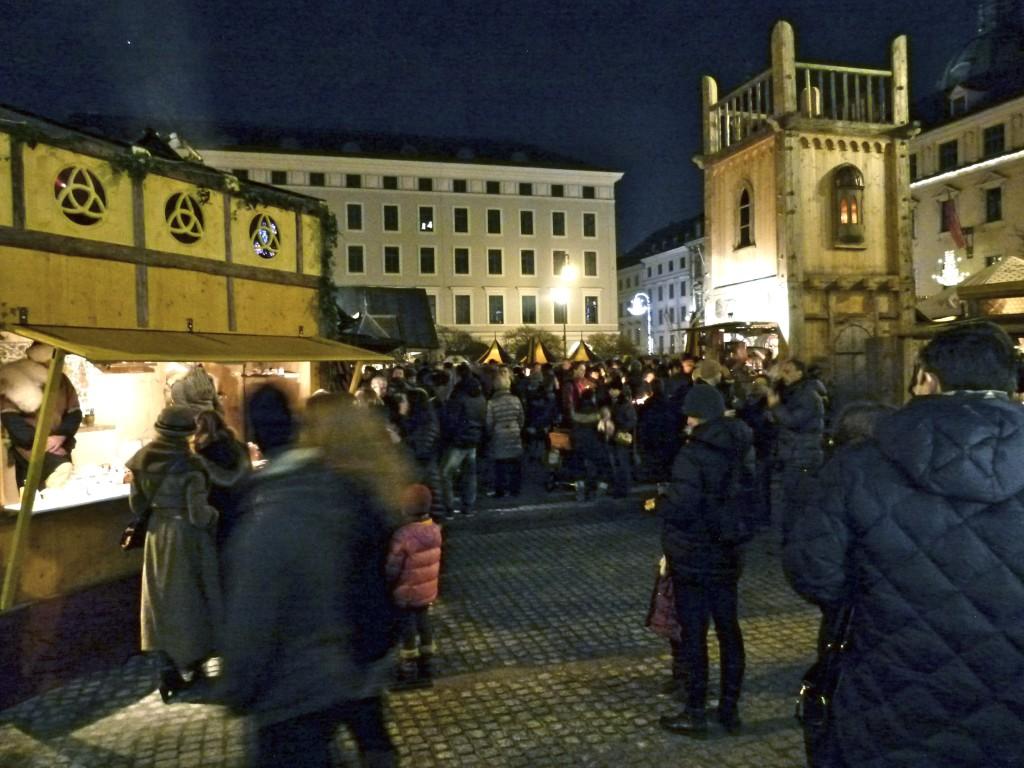 best munich german christmas market medieval night