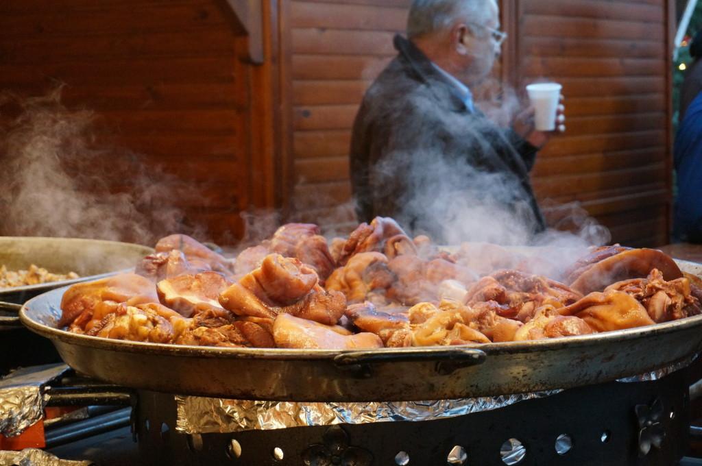 best hungarian food pork budapest christmas market fair