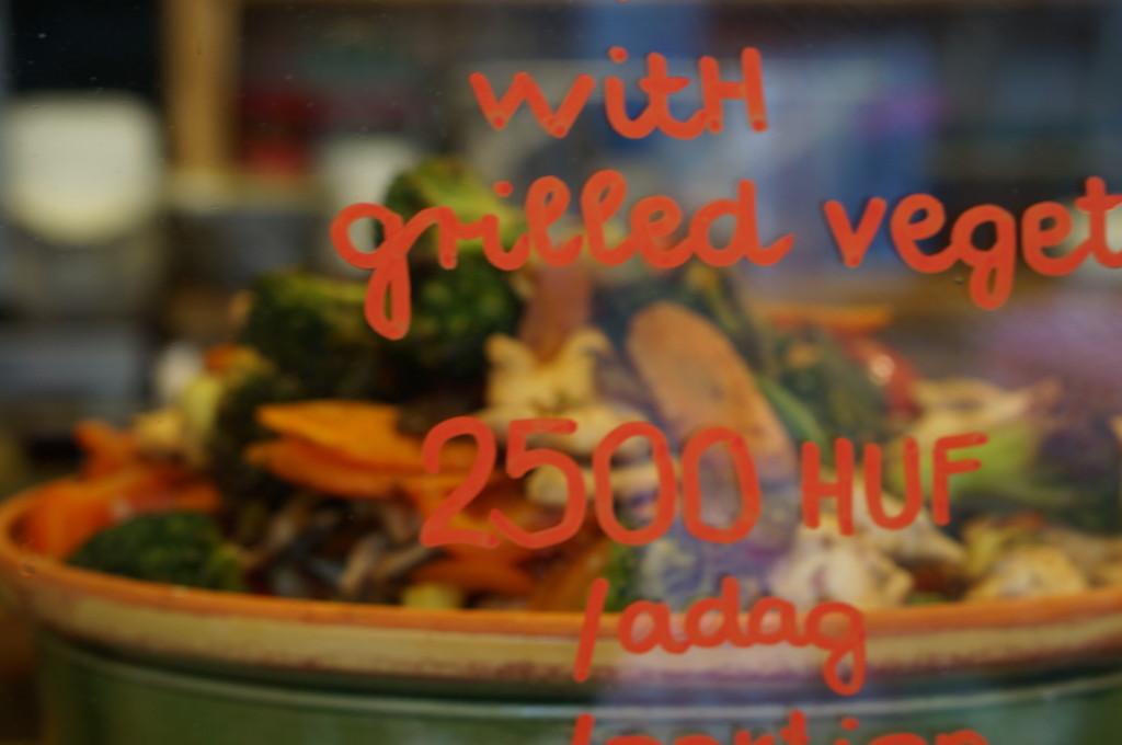 hungarian vegetarian food  budapest christmas market fair