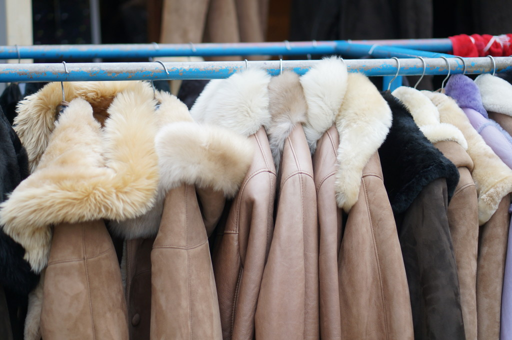 budapest christmas market hungarian budapest Sheepskin coats. budapest souvenir hungarian  handmade craft christmas market fair