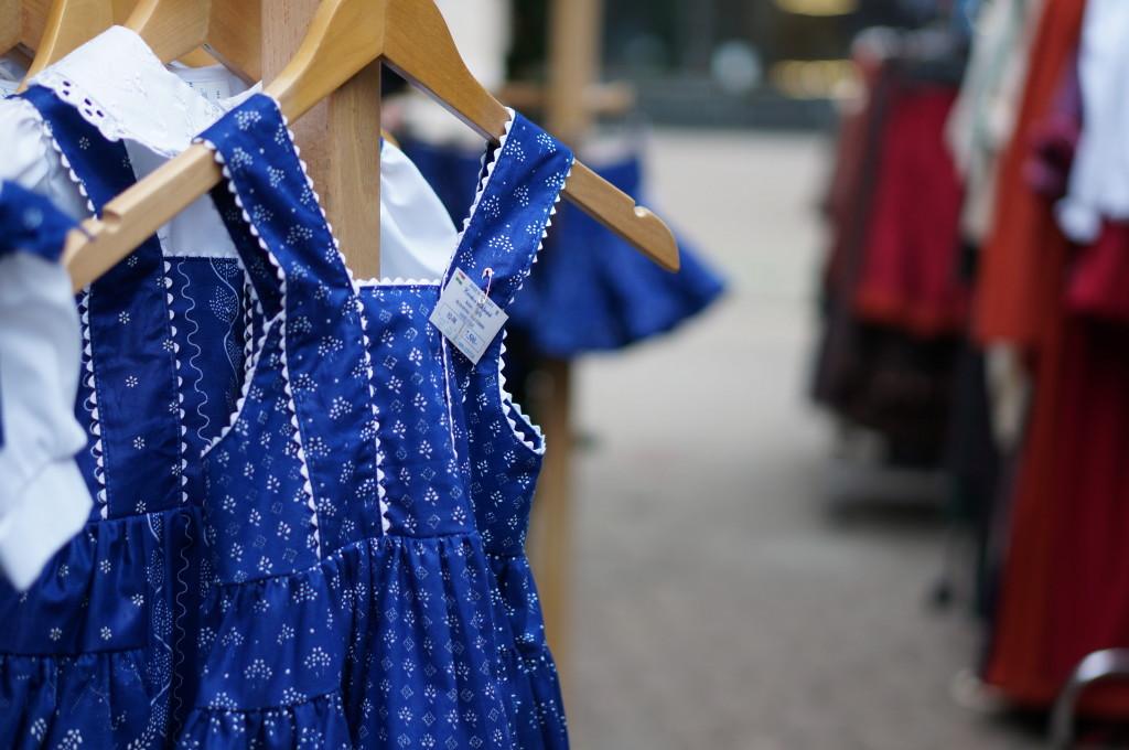 budapest christmas market souvenir hungarian  children's clothing handmade craft fair