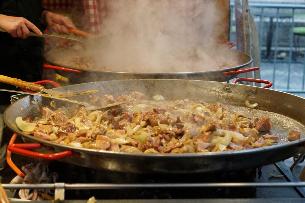 best hungarian food  budapest christmas market fair