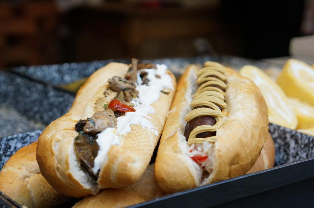 hungarian sausages budapest christmas market fair hungarian food