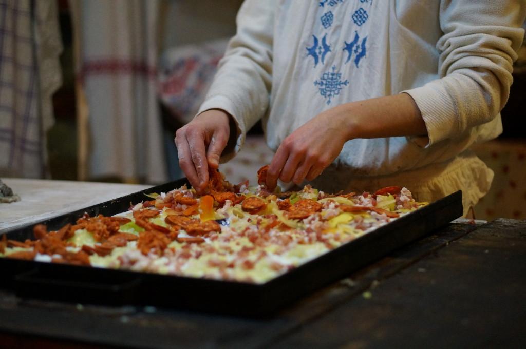 hungarian pizza budapest christmas market fair  best