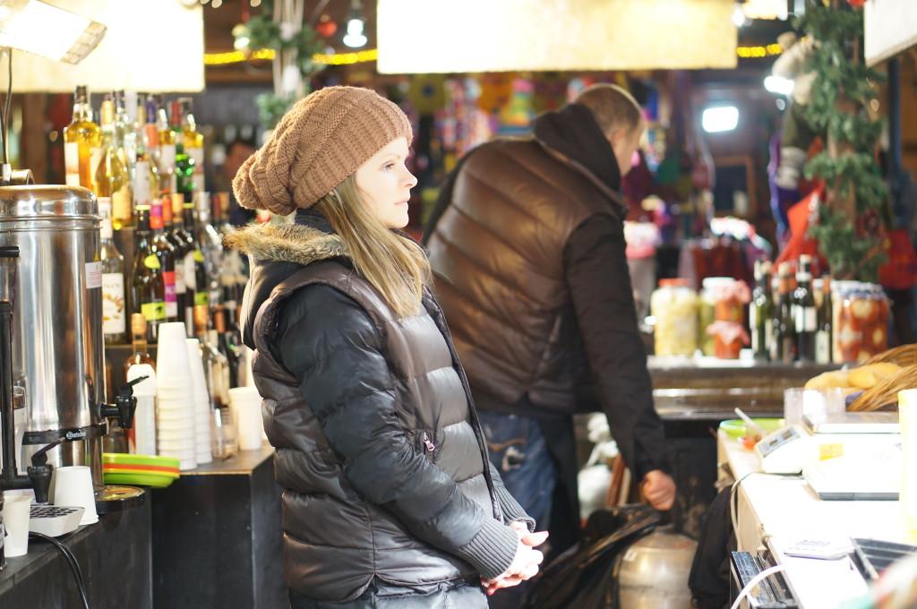 best hungarian drinks  budapest christmas market fair