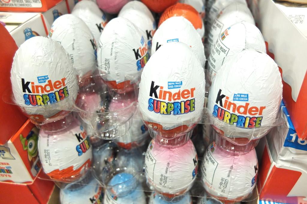 kinder surprise egg illegal chocolate souvenir