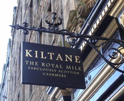royal mile shops cashmere souvenirs