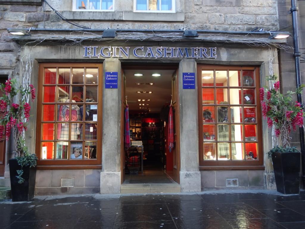 elgin cashmere shop royal mile edinburgh