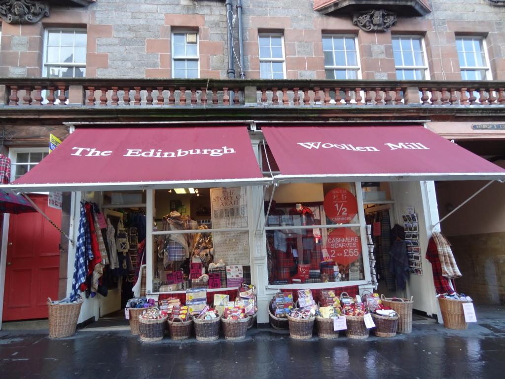 cheap cashmere royal mile souvenirs edinburgh