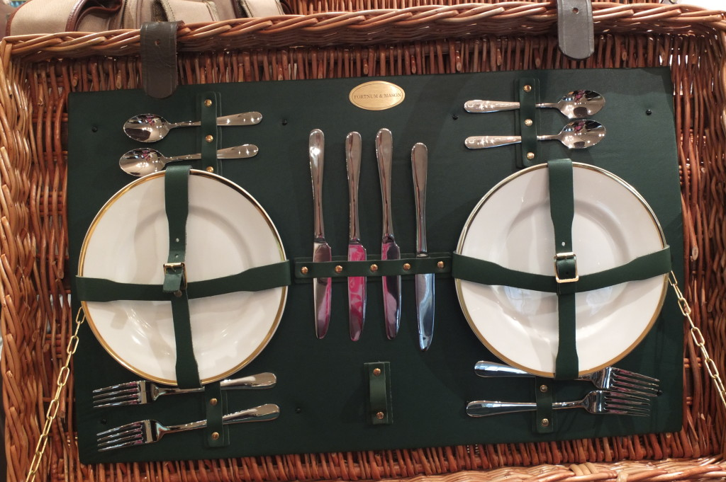 fortnum and mason lidded hamper picnic basket london british