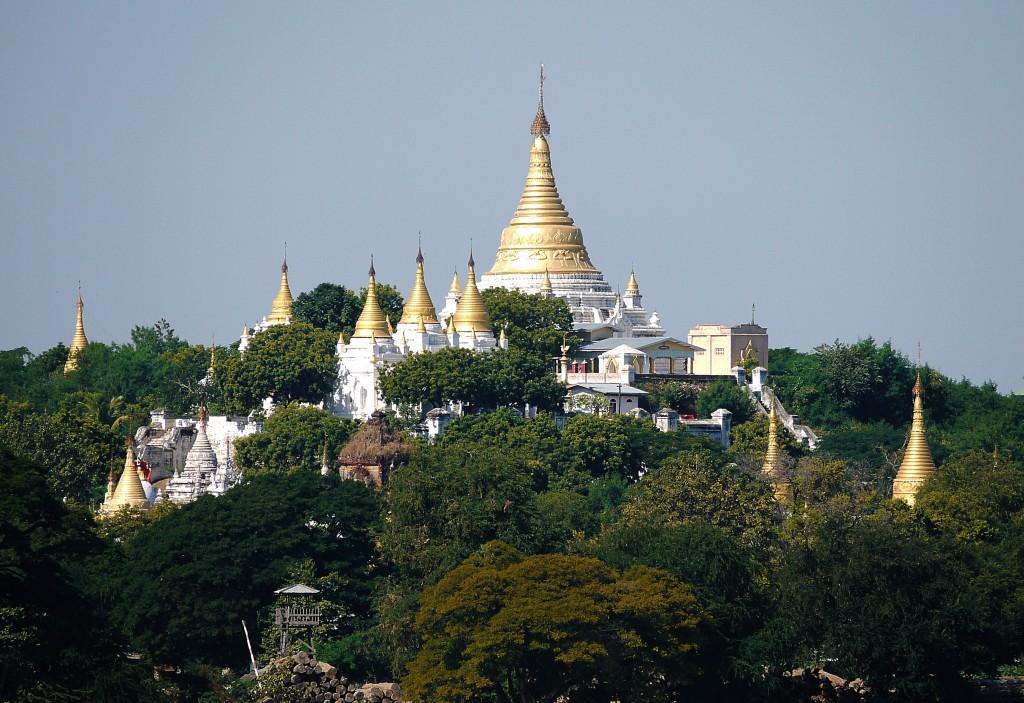 Sagan temples burma mynamar gold and white best