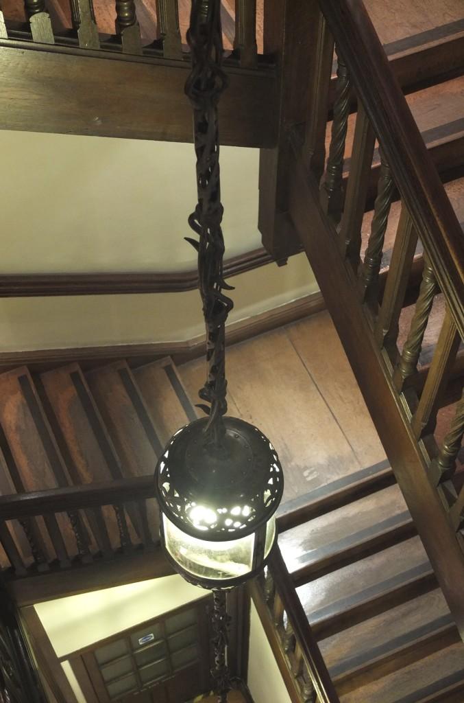 Liberty London staircase