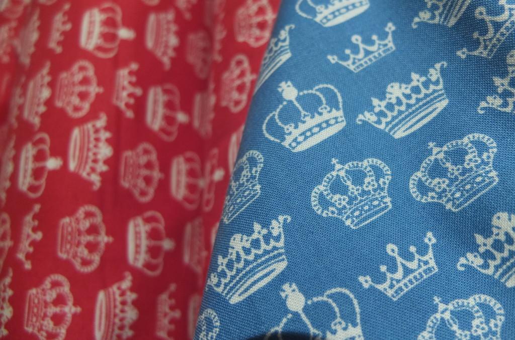 Liberty Art fabric souvenir crown printed fabric