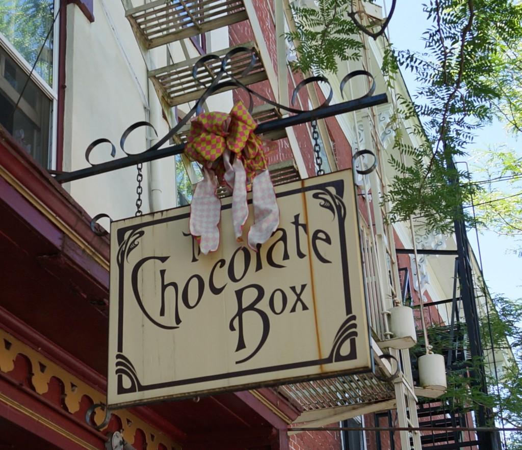 chocolate box lambertville day trip