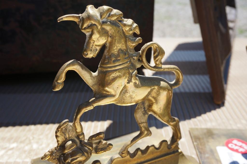 golden unicorn golden nugget flea market