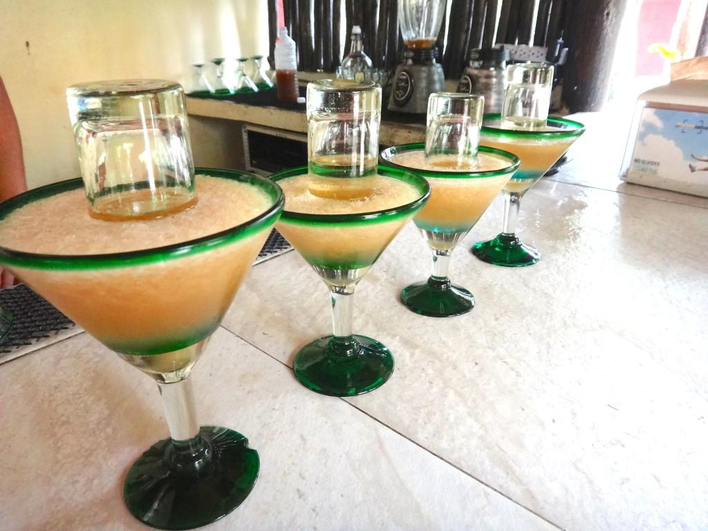 margarita glasses souvenir mexico