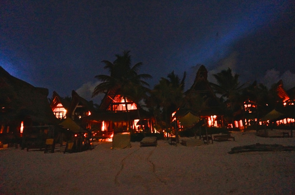 Ahau tulum hotel night rooms