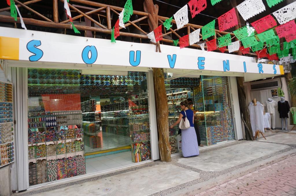 souvenirs mexico playa del carmen shopping riviera maya