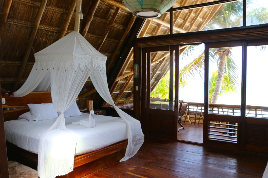 ahau hotel room suite beachfront balcony tulum mexico