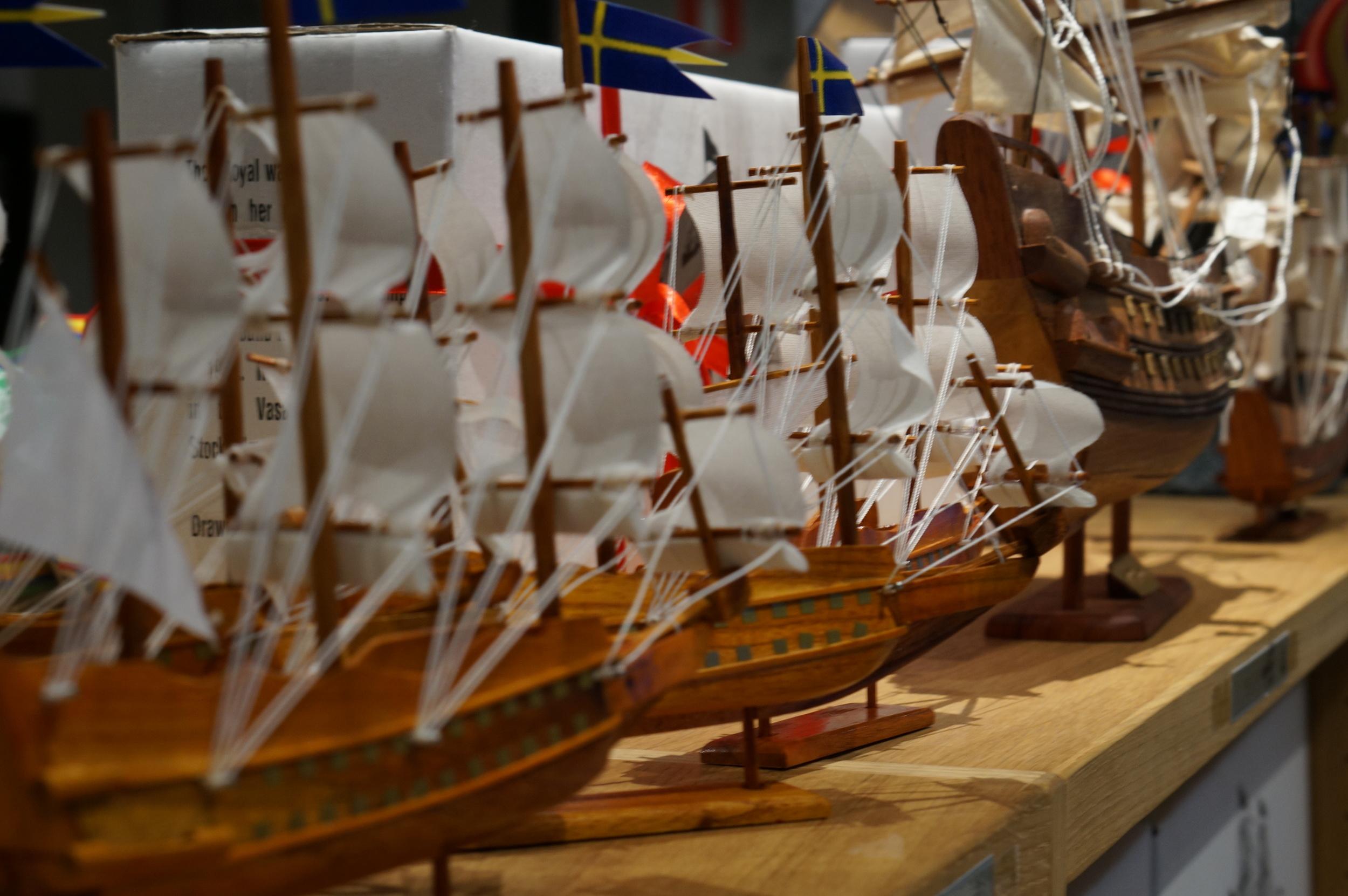 Unique Swedish Souvenirs Vasa Musem Gift Shop