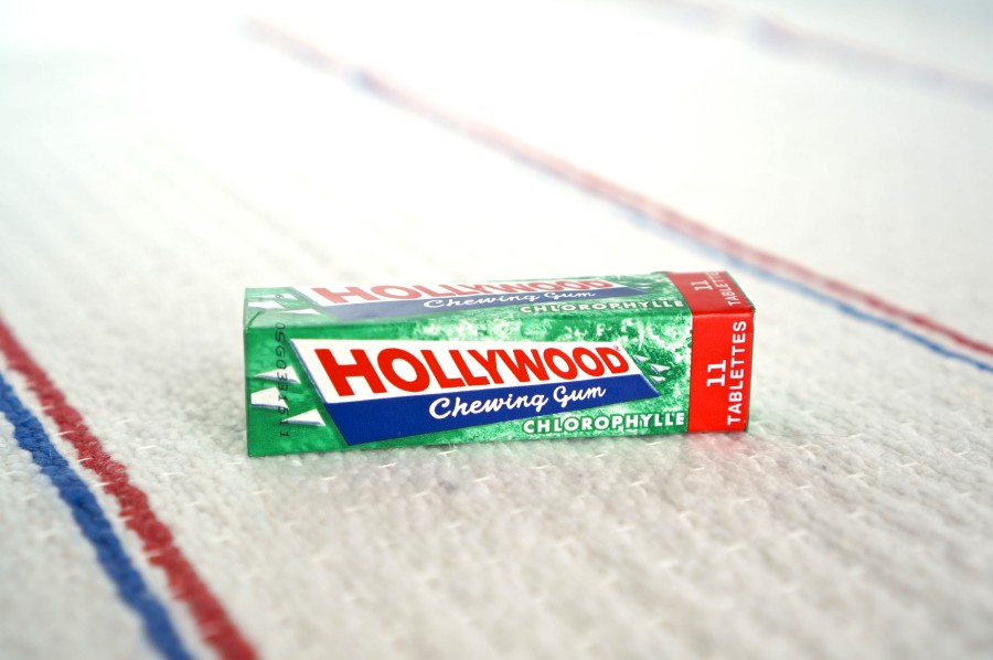 hollywood chewing gum France american GI