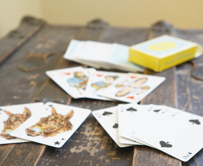 playing cards travel