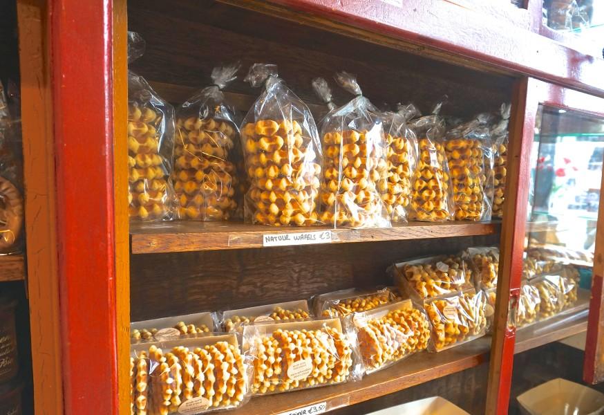 Belgian waffles bakery Ghent Brussels