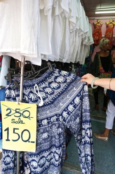 thai elephant pants souvenir style