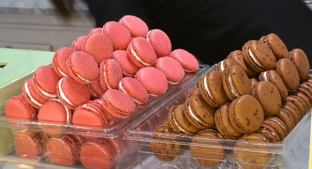 Pink Macarons From Laduree Paris