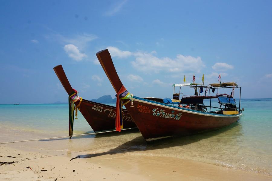 trang thailand longboat