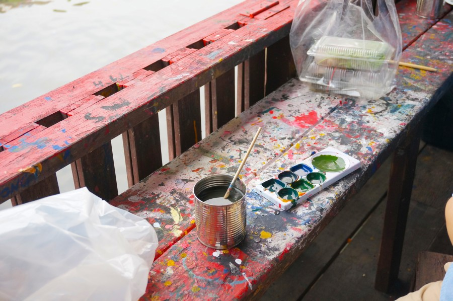 thai artist paint