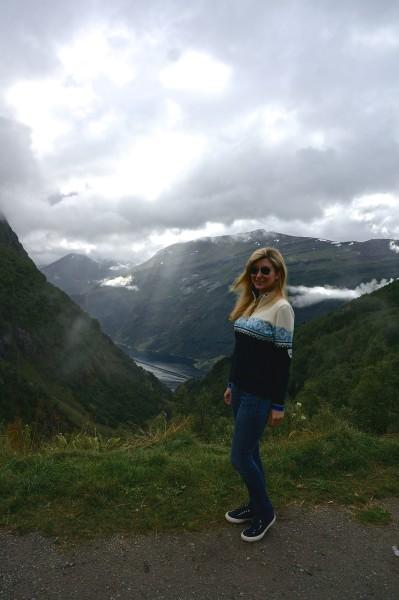 dale of Norway St Moritz sweater blue norwegian wool zip sweater