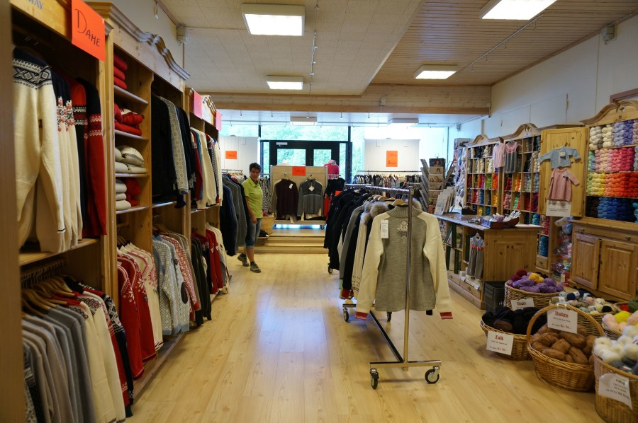 factory store dale norway outlet sweaters knitwear visit
