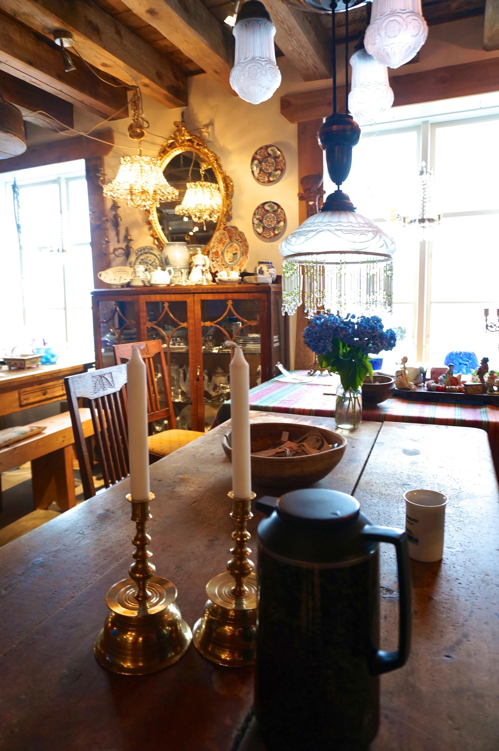 Bonus: A Cafe Right In The Antikk Gallery (Alesund, Norway)