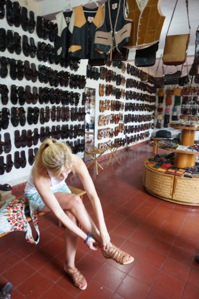 handmade mexican sandals
