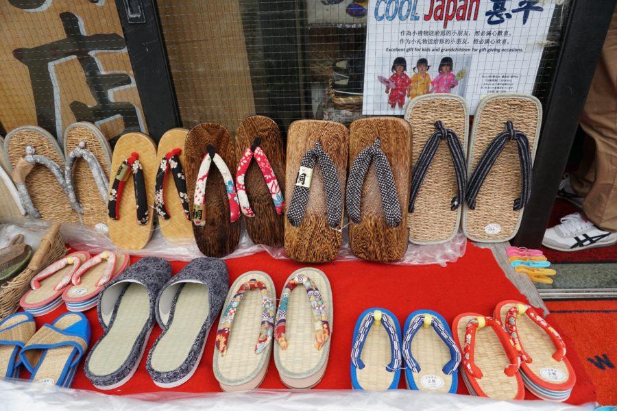 japanese souvenir geta sandals