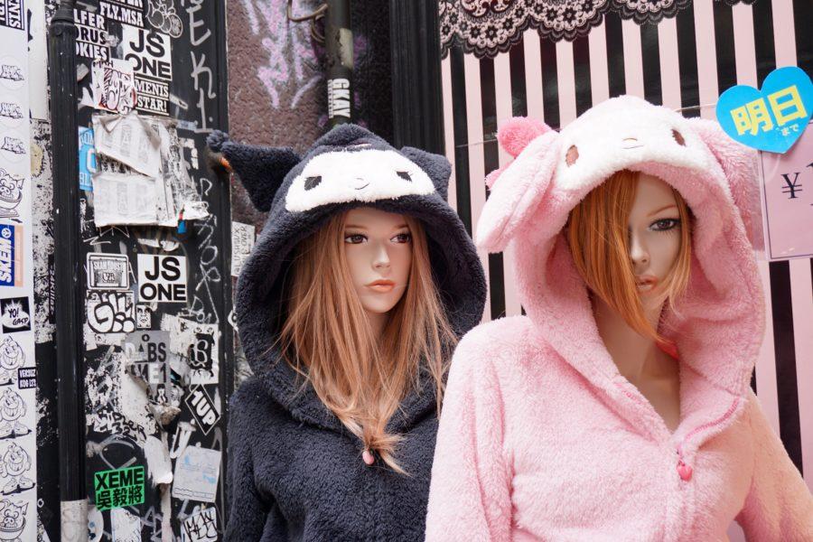 japanese animal hoodies