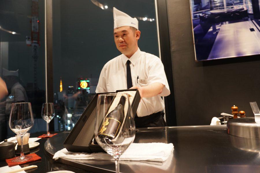 teppanyaki restaurant tokyo japan